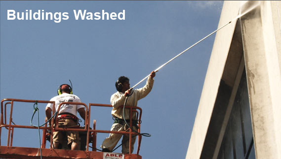 commercial power washing services long island